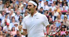 Un sólido Federer se metió en cuartos de final en Wimbledon