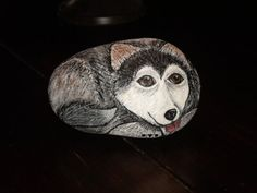 Painted Rock Dog Cat Animal Pet Memorial Garden by BoandMe on Etsy