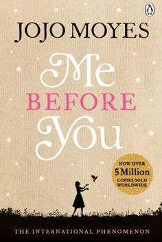 {Read it in less than 24 hours} Me Before You by JoJo Moyes | a book everyone has read but me - The only book that has ever made me cry. I was a wreck at the end.