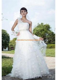 2013 Traumhafte Brautmode stuttgart kaufen aus Tüll und Satin Einschulter