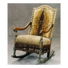 C105 01 Rocking Chair Rocker From Old Hickory Tannery @Old Hickory Tannery