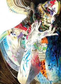 Minjae Lee 23 year old artist from Seoul, South Korea