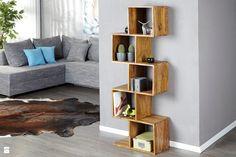 9design: Ciepło naturalnego drewna w nowoczesnych formach - zdjęcie od 9design - Salon - Styl Nowoczesny - 9design