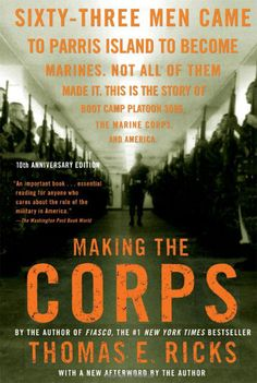 """Making the Corps"" A book about Bootcamp at Parris Island at the EGA Shop!"
