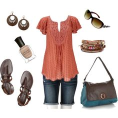 Casual Summer Date, created by sdutton12 on Polyvore