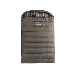 Double Warm Cotton Fleece-Lined Outdoor Sleeping Bag 3 Colors
