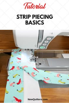 100 Brilliant Projects to Upcycle Leftover Fabric Scraps - Mintain Quilting Tips, Quilting Tutorials, Sewing Tutorials, Machine Quilting, Beginner Quilting, Art Quilting, Quilting Projects, Sewing Hacks, Sewing Tips