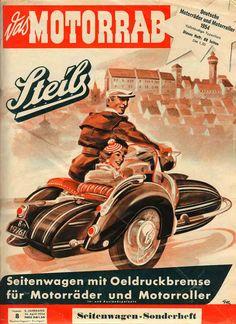 German sidecar ad