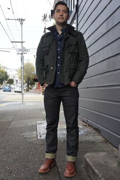 Mens Thrift Fashion | alden # unionmade # san francisco