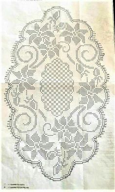 Crochet Edging And Borders Previous 3 of 3 Handmade crocheted table center in your desired length, filet crochet lace trim, linear or turning edge for home décor and table [. Filet Crochet Charts, Crochet Doily Patterns, Crochet Borders, Thread Crochet, Crochet Motif, Crochet Doilies, Crochet Lace, Crochet Edgings, Knitting Charts