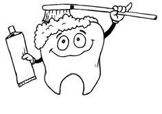 Top 10 Free Printabe Dental Coloring Pages Online | Dental care ...