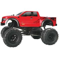 This is the Electric Powered, Radio Controlled, 1/10 Scale RTR HPI Crawler King with the Ford Raptor Body. FEATURES Chassis: Plastic ladder frame-style TVP (Twin Vertical Plate) Drive: Four wheel shaf