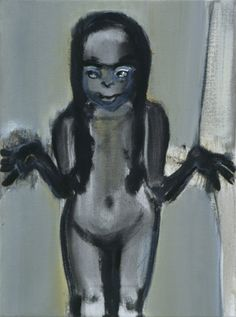 Marlene Dumas. Dumas deals with the big subjects: birth, death, sex, power, identity.
