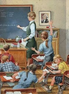 Peterson, Charles L (b,1927)- Taking Notes (School Days Series)