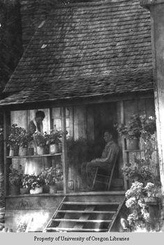Hipps family farm, Asheville, North Carolina, 1934.