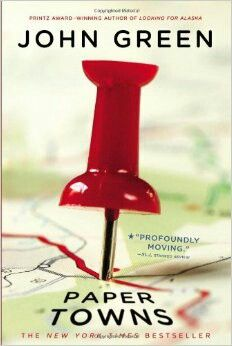 "2009 WINNER FOR BEST YOUNG ADULT NOVEL: ""Paper Towns""  ***  John Green"