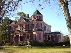 This is the E L Evans House in South Boston, Va.  It is also my Grandparents house.  I miss it so much!