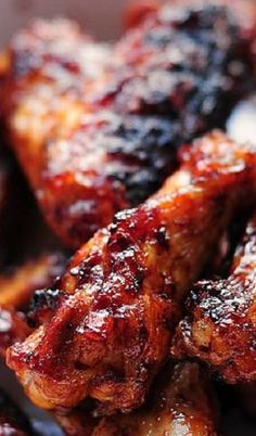 Sweet and Spicy Chicken Wings - Simple Sweet and Spicy Grilled Chicken Wings Spicy Grilled Chicken, Sweet And Spicy Chicken, Chicken Wings Spicy, Chicken Wing Recipes, Grilled Wings, Sweet And Spicy Wings Recipe, Best Hot Wings Sauce Recipe, Grilled Hot Wings Recipe, Chicken Wing Flavors