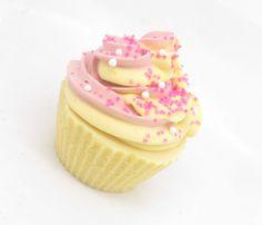 Honeysuckle Strawberry Cupcake Soap