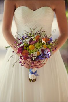 Rustic Wedding with Wildflowers