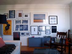 So I debated for more than a week about whether to add some dark paint to the walls in my apartment and gave that up since there really was...