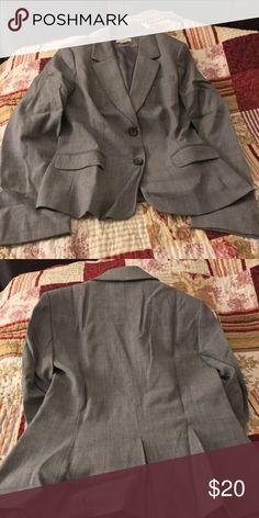 Ann Taylor Loft light Gray Jacket size 6 Ann Taylor Loft light Gray Jacket size 6 in good condition. Smoke/pet free home. LOFT Jackets & Coats Blazers