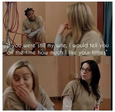 Join our official Addicted 2 #OITNB  by click here:   http://pinterest.ADDICTED2OITNB.COM - OITNB ORANGE IS THE NEW BLACK CRazy Eyes quote funny pics