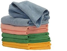 """COMFIT MICROFIBER CLOTHS- 16"""" By 16"""", Pack of 8. Premium Cleaning Cloth for Home, Car, Boat. Home Essential Cloth for Dusting Furniture, Wiping Down Appliances, and Polishing Stainless Steel. Comfit Collection http://www.amazon.com/dp/B00U5LPYYG/ref=cm_sw_r_pi_dp_JB3kwb1EVFYKZ"""