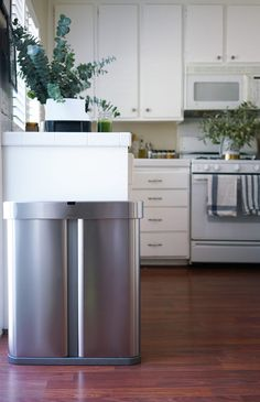 Kicking My Trashcan To The Curb And Going Hands (And Mess) Free - Design Milk