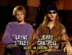 Layne Staley and Jerry Cantrell - MTV interview