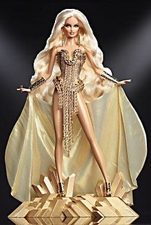 The Blonds Blond Gold Barbie 2013