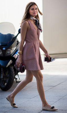 street style look Olivia Palermo
