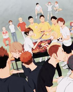 Image result for haikyuu official art