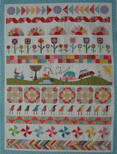6th Row By Row Kit with Pattern by Pipersgirls on Etsy  xxx