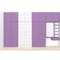 Modular wardrobe with loft, dressers offers ample space to fit in essentials. The color combination of the furniture adds elegant look to the bedroom. The design and the pattern adds unique style to the entire space and makes your interior look special. Wardrobe Laminate Design, Wall Wardrobe Design, Wardrobe Interior Design, Wardrobe Door Designs, Bedroom Closet Design, Bedroom Wardrobe, Wardrobe Doors, Bedroom Cupboard Designs, Bedroom Cupboards