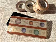 シックな銀河系事典柄のマスキングテープiPhoneケース。(アイフォンケース) マスキングテープのデザイン性、風合いが楽しめる、手づくり中の手づくりiPhon...|ハンドメイド、手作り、手仕事品の通販・販売・購入ならCreema。