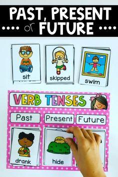 Alphabet Activities Kindergarten, Grammar Activities, Kindergarten Learning, Preschool Learning Activities, Montessori Activities, Teaching Reading, Classroom Activities, Teaching English Grammar, English Language Learning