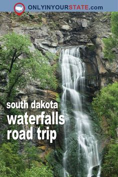 Travel | South Dakota | Scenery | Beautiful | Attractions | Sight Seeing | Places To Go | Photography | Road Trip | Waterfalls | Exploring