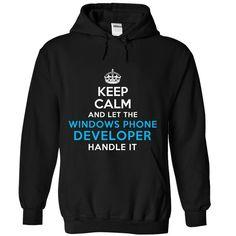 (Tshirt Sale) Windows Phone Developer Handle It at Tshirt United States Hoodies, Tee Shirts