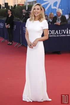 """Elizabeth Olsen attends the premiere of """"Ruth and Alex"""" during the 41st Deauville American Film Festival in Deauville, France."""