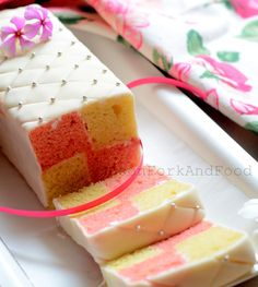 British battenburg cake