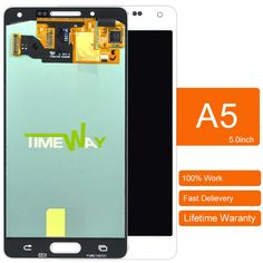 795.00$  Watch here - http://aliua5.worldwells.pw/go.php?t=32788841244 - DHL 10pcs Free shipping 100% Test copy For Samsung Galaxy A5 LCD A5000 A500 LCD Touch Screen Assembly  795.00$