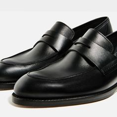 Image 7 of LIMITED EDITION LEATHER LOAFERS from Zara