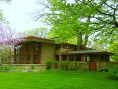 isabel roberts  home by frank lloyd wright | Frank Lloyd Wright. Isabel Roberts House, 1908. River Forest, Illinois ...