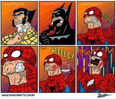 Otros - Los superhéroes sí que los tienen bien puestos