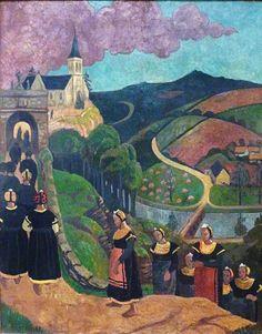 Le pardon de Notre-Dame-des-Portes à Châteauneuf-du-Faou vers 1894 Paul Sérusier.