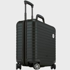 Lufthansa RIMOWA AirLight Collection, Multiwheel® business trolley, Matt black - Lufthansa WorldShop