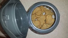 Homemade dog biscuits.. Add Carrots or bacon.. Dogs love these biscuits!!