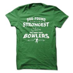 God made Bowlers - men design - #shirt for teens #sudaderas sweatshirt. PURCHASE NOW => https://www.sunfrog.com/LifeStyle/God-made-Bowlers--men-design-20097605-Guys.html?68278
