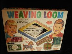 I loved my loom; I was a young crafter at heart!